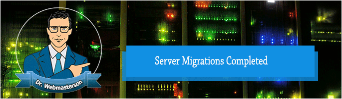 Server Migrations Completed