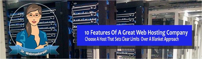 10 Features of Great Web Hosting