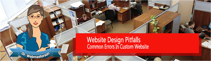 Website Design Pitfalls