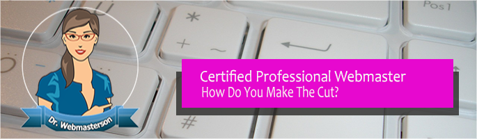 How to become a certified webmaster