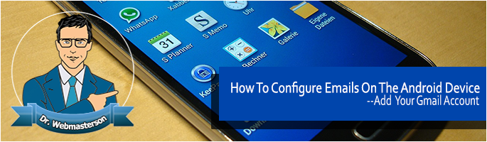 Configure Email on Android