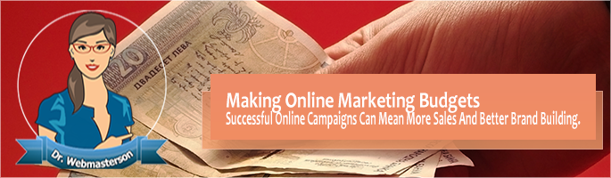 Making Online Marketing Budgets
