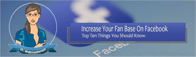 Increase Your Facebook Fan Base
