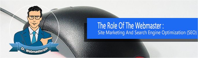 WebMaster  in Site Marketing and SEO